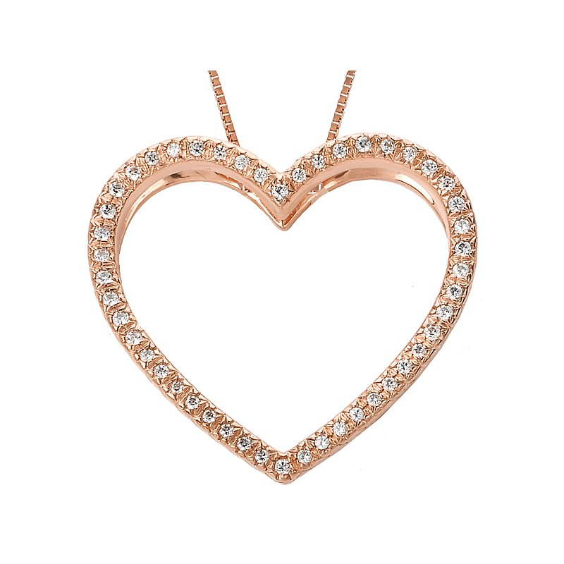 Tesoro Ladies Heart Pendant