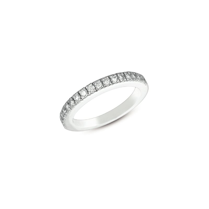 S. Kashi & Sons Bridal White Gold Bridal Band