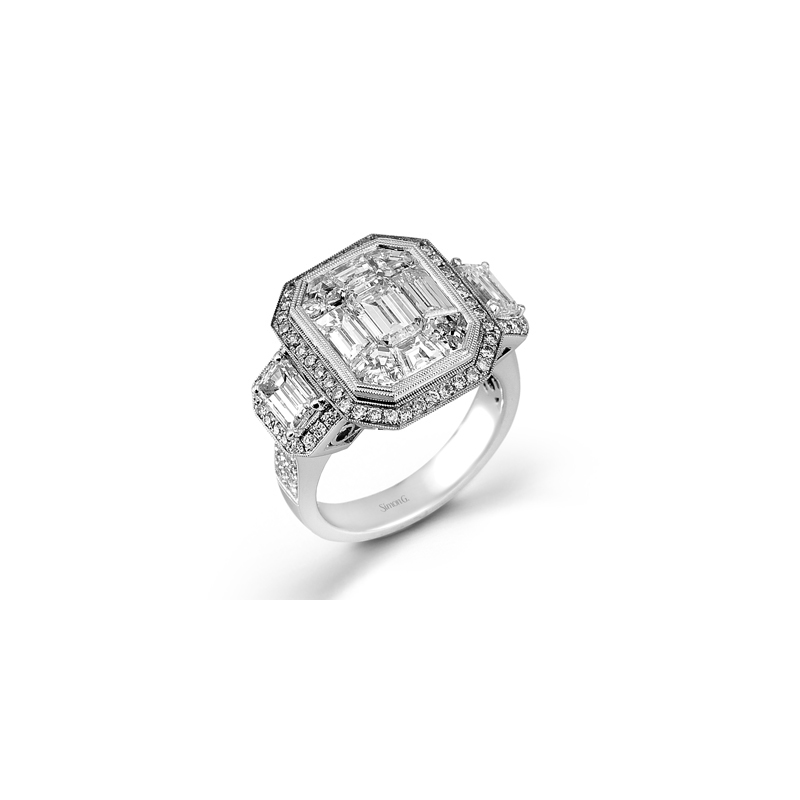 Simon G LP2068-A ENGAGEMENT RING
