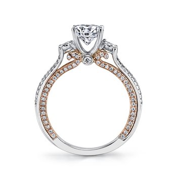 MARS Jewelry - Engagement Ring 26085 TT