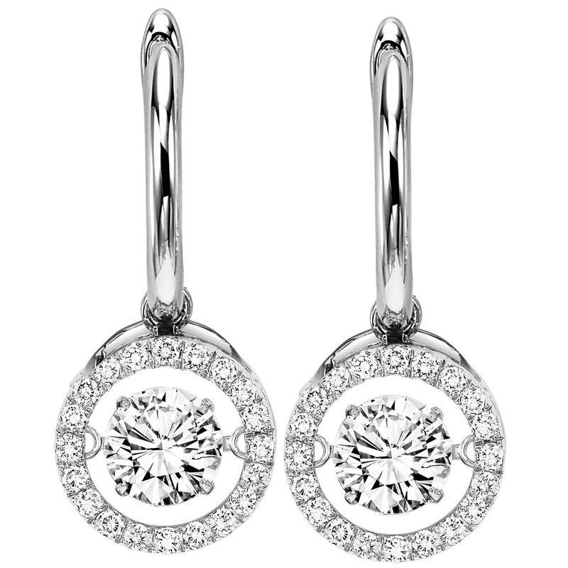 Necker's Signature Collection 14K Diamond Rhythm Of Love Earrings 2 ctw