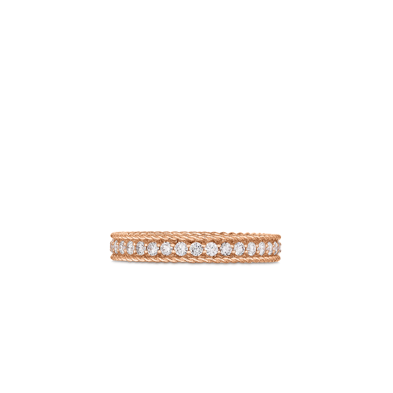 Roberto Coin Princess Ring With Diamonds &Ndash; 18K Rose Gold