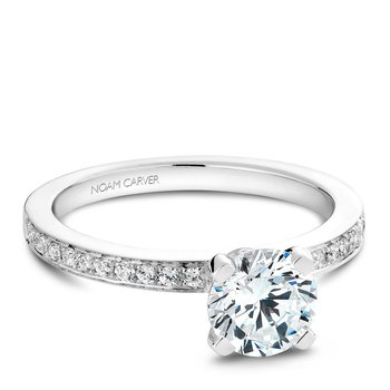 Noam Carver Vintage Engagement Ring B012-01A