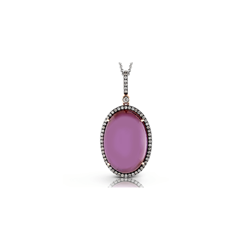 Zeghani ZP629 COLOR PENDANT