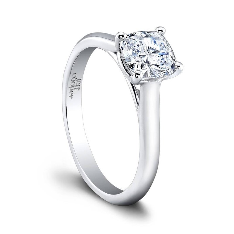 Jeff Cooper Chloe Cushion Engagement Ring