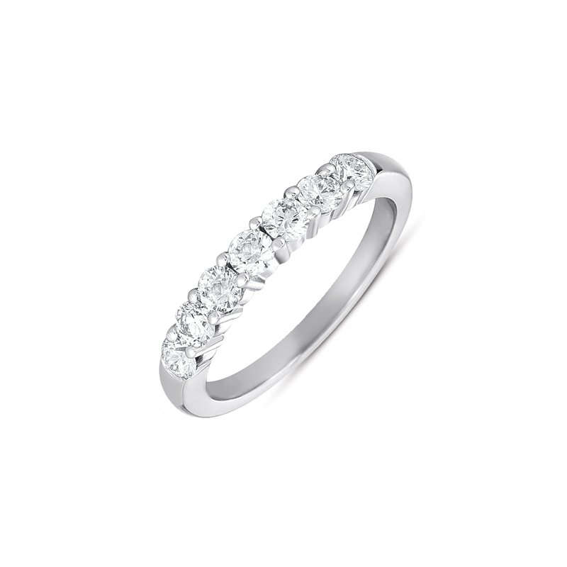 S. Kashi & Sons Bridal Paltinum Diamond Band