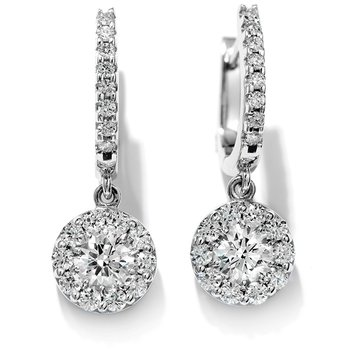 2 ctw. Fulfillment Diamond Drop Earrings