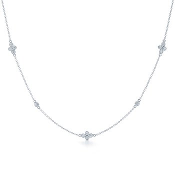 Kwiat Diamond Strings Necklace