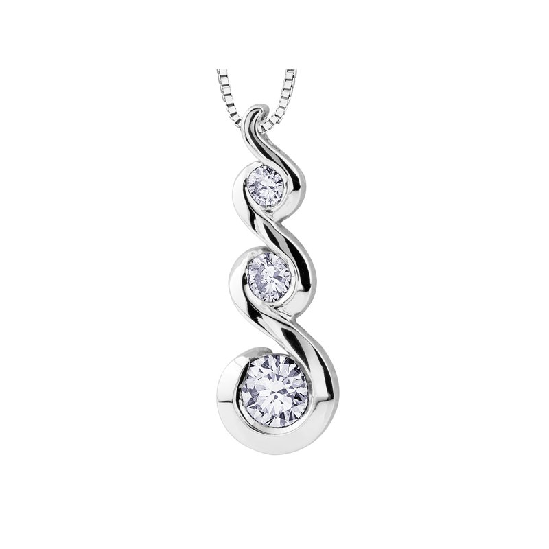 Maple Leaf Diamonds Maple Leaf Diamonds Tides of Love™ Pendant