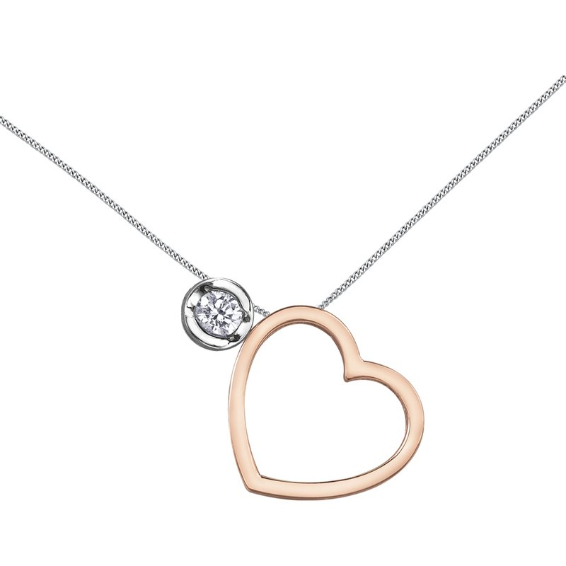Timeless Beauty I am Canadian™ Diamond Solitaire Pendant