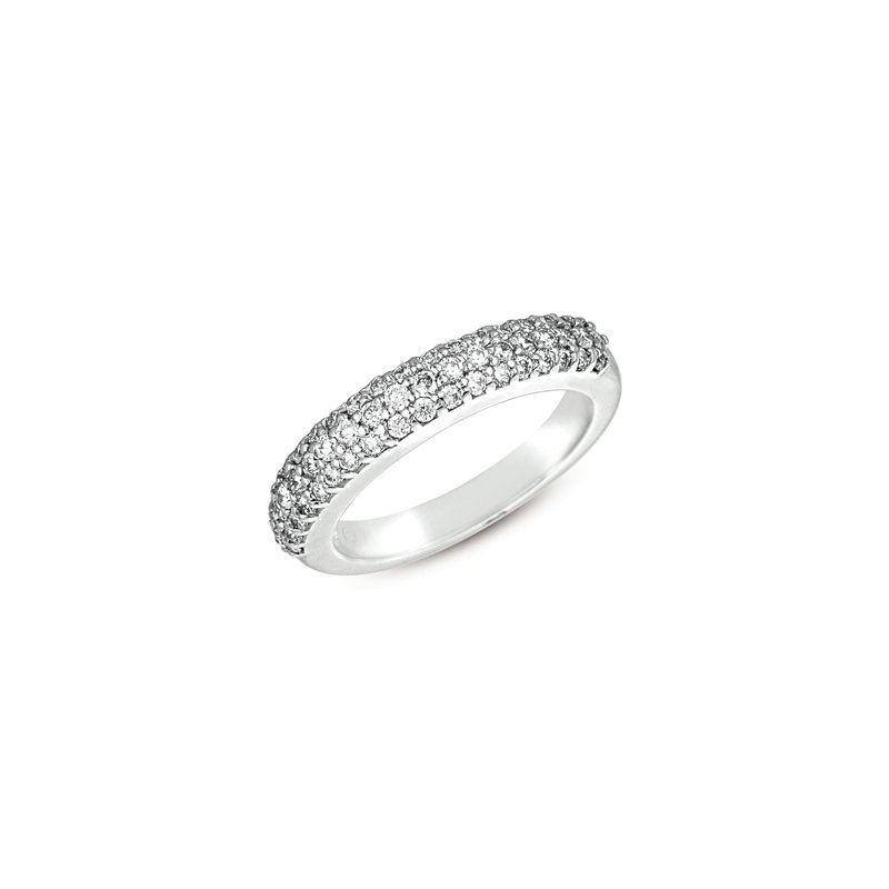 S. Kashi & Sons Bridal White Gold Band