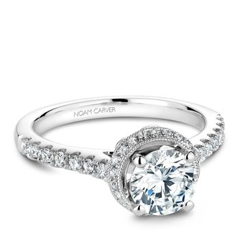 Noam Carver Vintage Engagement Ring B082-01A