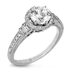 Zeghani ZR1168 ENGAGEMENT RING