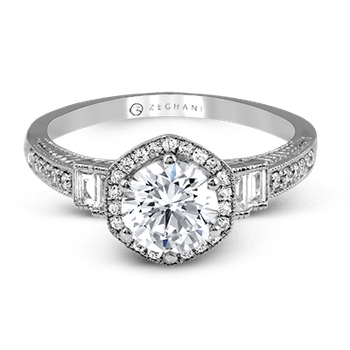 ZR1168 ENGAGEMENT RING