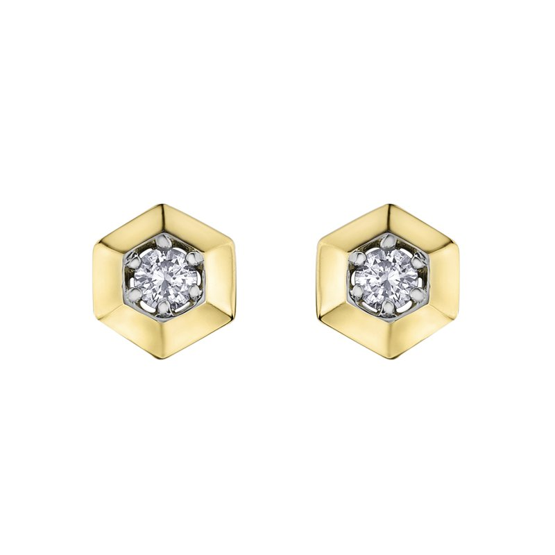 Lasting Treasures Diamond Stud Earrings