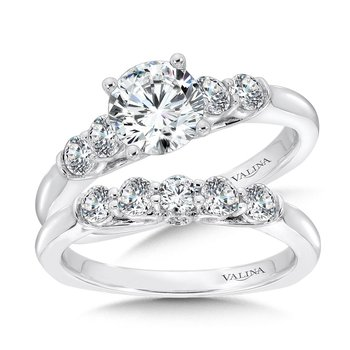Five-Stone Straight Engagement Ring