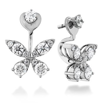 1.15 ctw. Aerial Diamond Earrings
