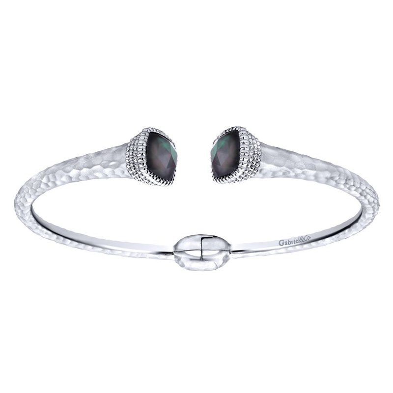 Gabriel Fashion 925 Silver/stainless Steel Temptation Bangle