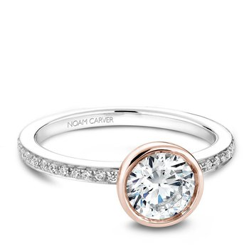 Noam Carver Modern Engagement Ring B095-02WRA