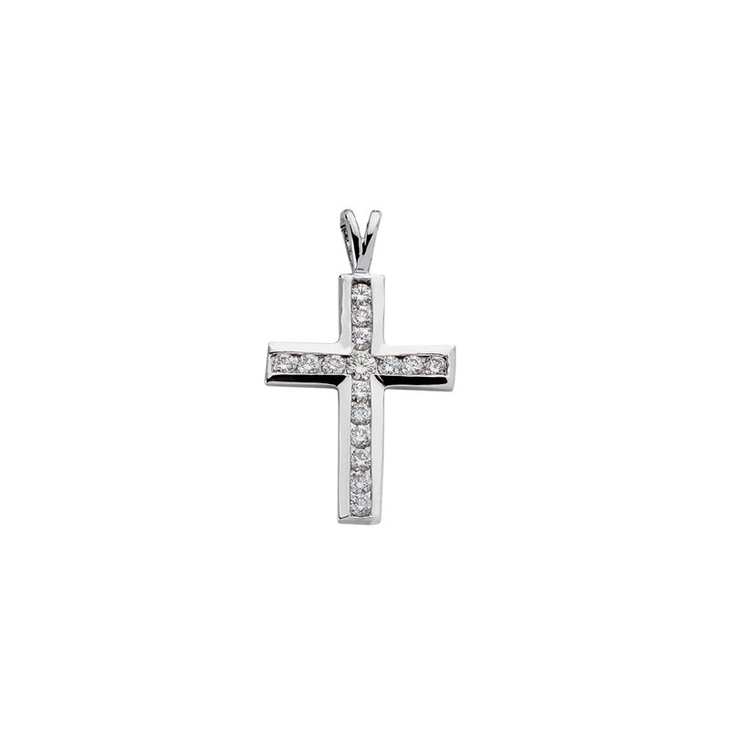 Briana Diamond Cross Pendant