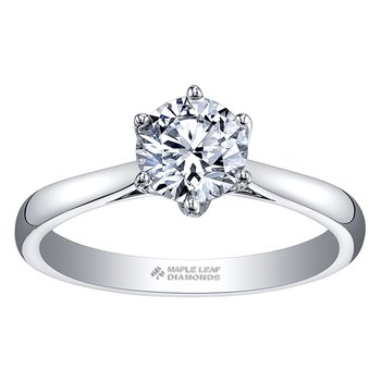 Maple Leaf Diamonds™ Eternal Flames™ Ladies Solitaire