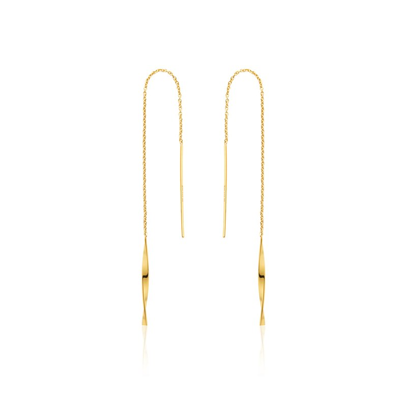 Ania Haie Helix Threader Earrings