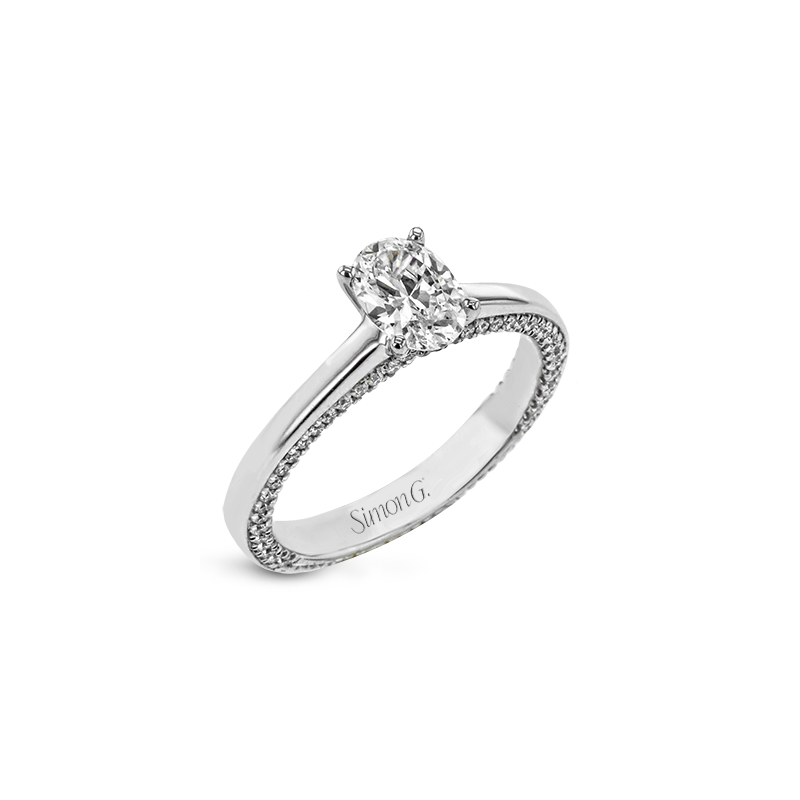 Simon G LR2460 ENGAGEMENT RING
