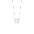 Roberto Coin Butterfly Pendant With Diamonds