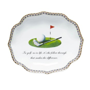 In Golf, As In Life, It'S The Follow Through That Makes The Difference (Golf Club Motif)