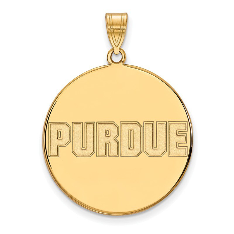 NCAA Gold Purdue University NCAA Pendant