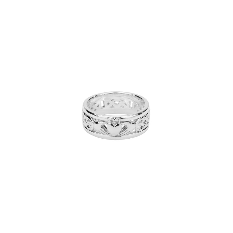 Keith Jack Claddagh Wedding Band