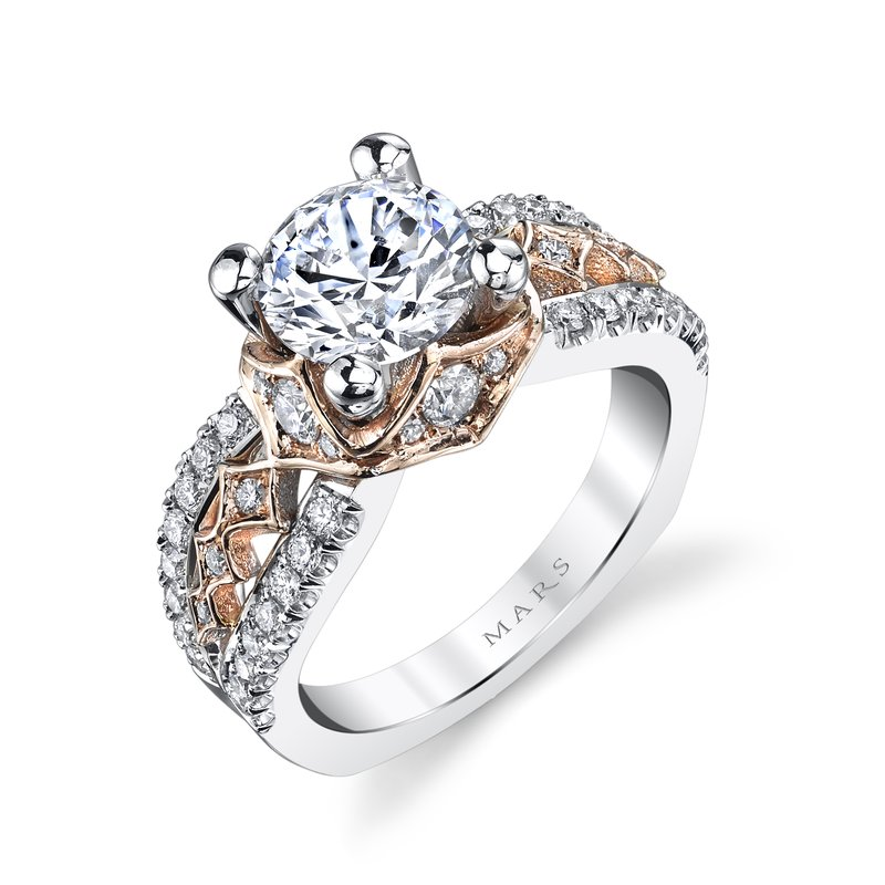 MARS Jewelry - Engagement Ring R254WR