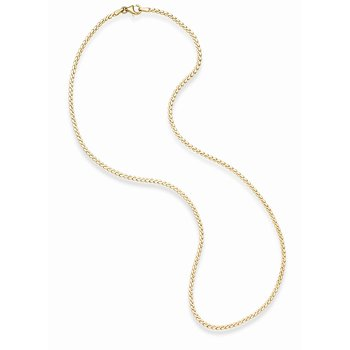 14K Gold Serpentina Necklace
