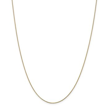 14k .65mm D/C Spiga with Spring Ring Clasp Chain