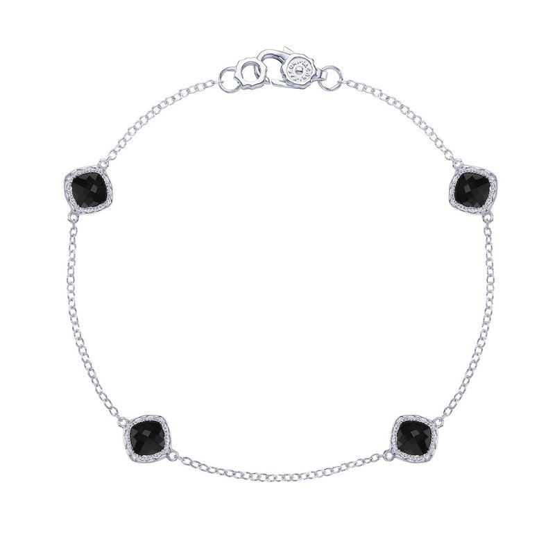 Tacori Fashion 4-station bracelet with Black Onyx