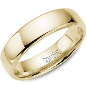 CrownRing Men's Wedding Band TDS14Y6