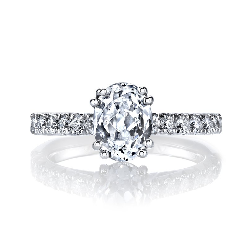 MARS Jewelry MARS 27037 Engagement Ring 0.50 Ctw.
