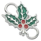 Lestage Sterling Silver Holly