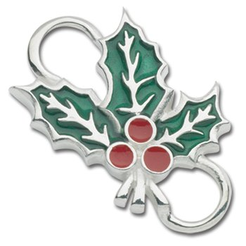 Sterling Silver Holly