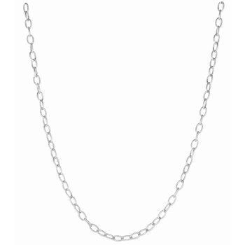 Silver 3.5mm Rolo Chain