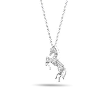 Horse Diamond Pendant