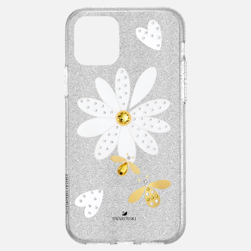 Swarovski Eternal Flower Smartphone Case with Bumper, iPhone® 11 Pro, Light multi-colored