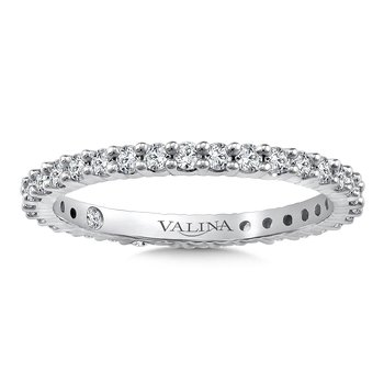 Valina Eternity Band (Size 6.5) in 14K White Gold (0.56ct. tw.)