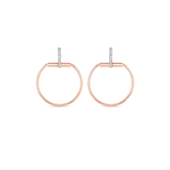 #19700 Of Earrings With Diamonds