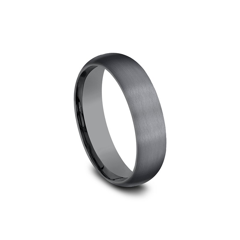 Tantalum Comfort-fit wedding band