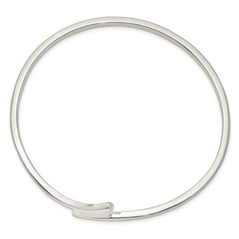 Sterling Silver 2.50mm Flexible Bangle