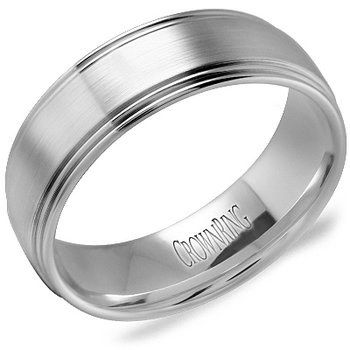 CrownRing Men's Wedding Band WB-9507