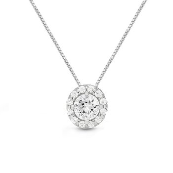 WS - The Seraphina Halo Necklace