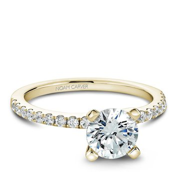Noam Carver Modern Engagement Ring B017-01YA