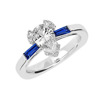 Bridal Ring-RE12673W10PS